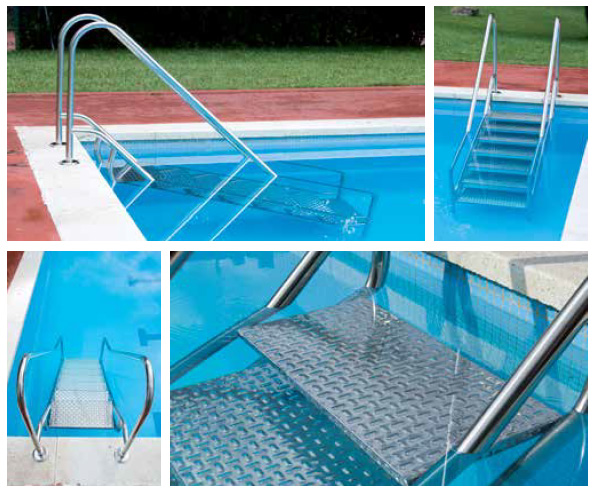 echelle piscine securite easy land