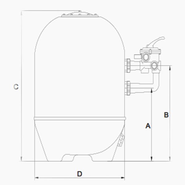 dimensions filtre balear br