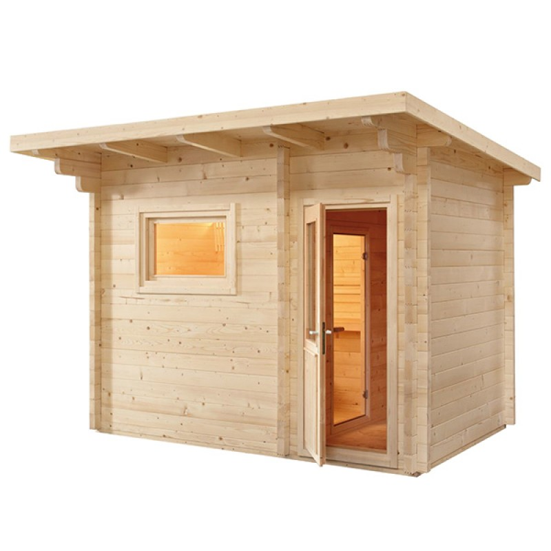Sauna Extérieur LAVA à Vapeur De Tradition Finlandaise ...