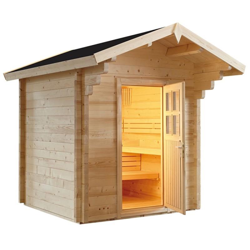 Sauna D Extérieur sauna d'extérieur à vapeur country - outlet piscines