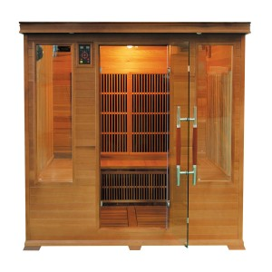 Sauna Infrarouge Luxe Club 4/5 Places