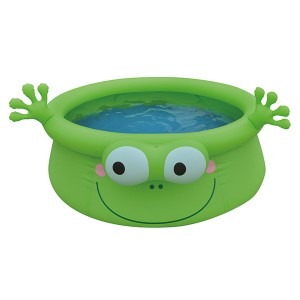 Piscine gonflable enfant grenouille jilong de pvc