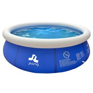 Piscine Gonflable marín blue 300x76cm jilong circulaire