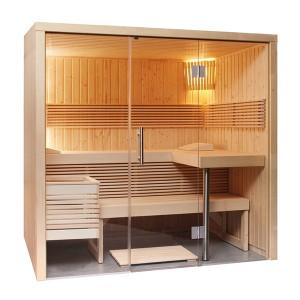 Sauna Vapeur Panorama Small Traditionl Finlandaise