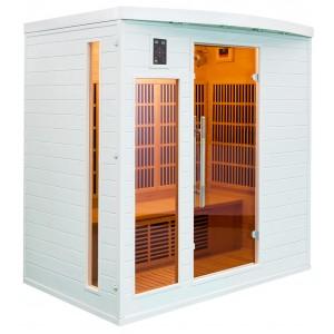 Sauna Soleil Blanc 4 places