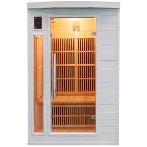 Sauna Soleil Blanc 2 Places