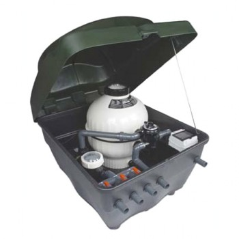 Coffre de filtration semienterré Kefren intérieur