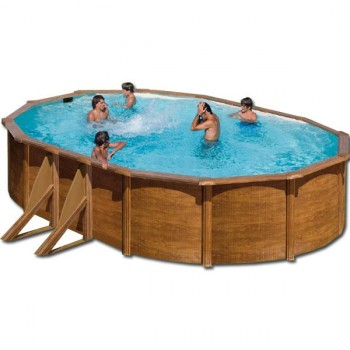 Piscine hors sol Pacific ovale Gre