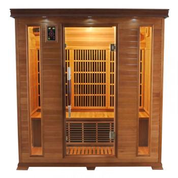 Sauna Infrarouges Luxe 4 Places
