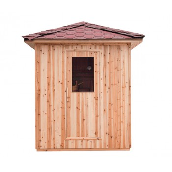 Sauna traditionnel vapeur extérieur