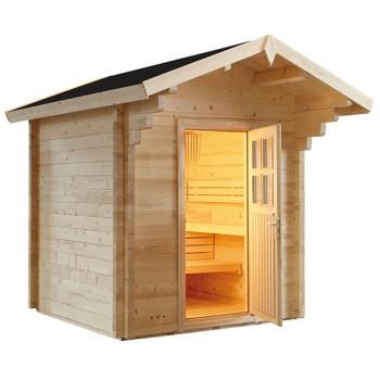 Sauna d'Extérieur à Vapeur Country de tradition finlandaise