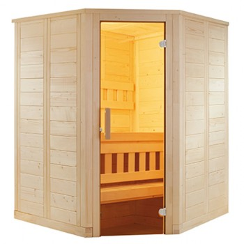 Sauna à Vapeur Wellfun Mini de Tradition Finlandaise