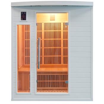 Sauna Soleil Blanc 3 Places