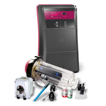 Électrolyseur au sel Go Salt CTX + Régulation pH