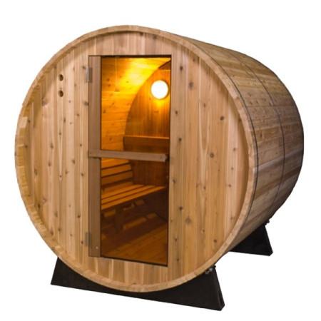 Sauna d'Extérieur Barril Rustique