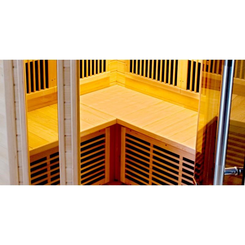 Sauna infrarouges Apollon 2/3 places