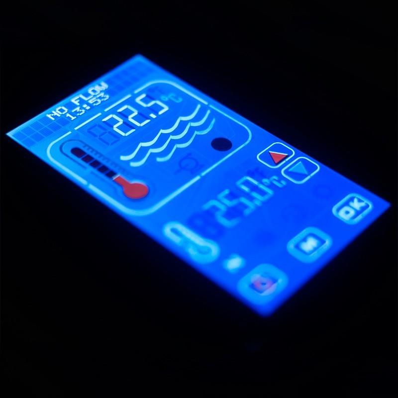 Chauffe-eau électrique de piscine Elecro Optima Compact écran tactile