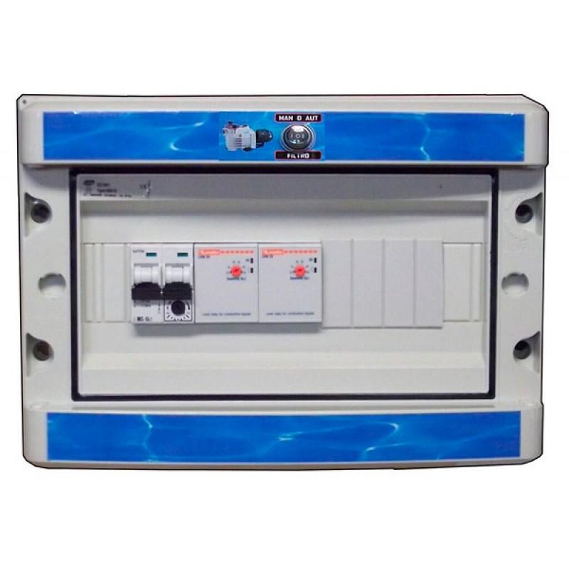 Coffret électrique piscines débordantes CDE220 2