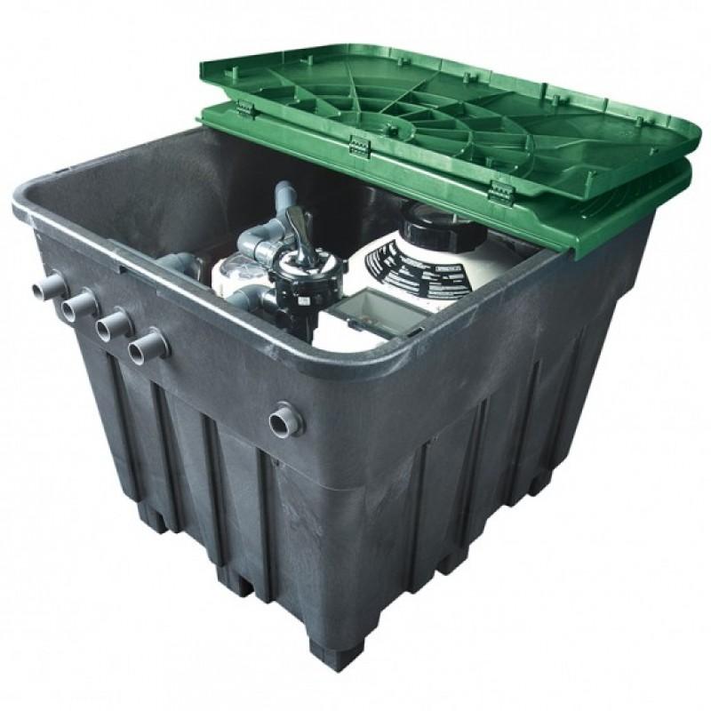 Coffre de filtration équipé Keops