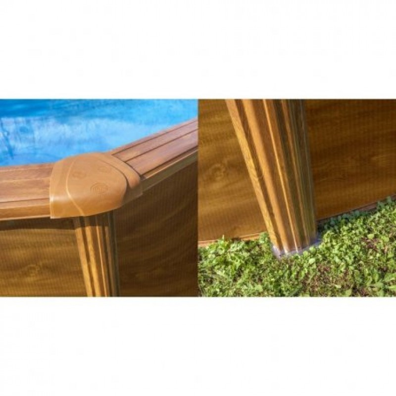 Embellecedores imitación madera