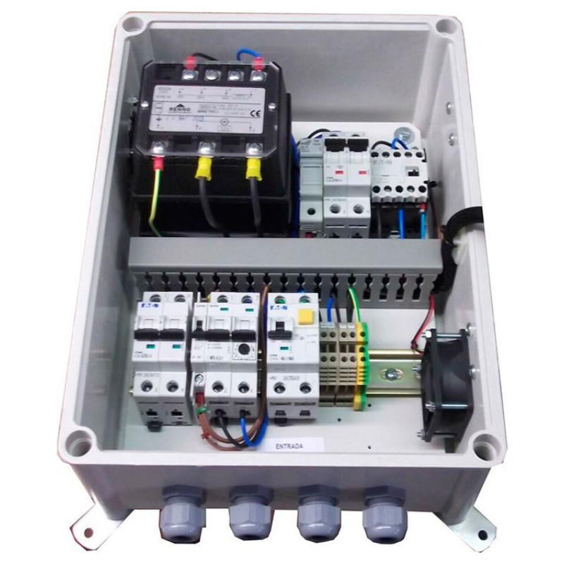 Coffrets électriques double isolation F1TD