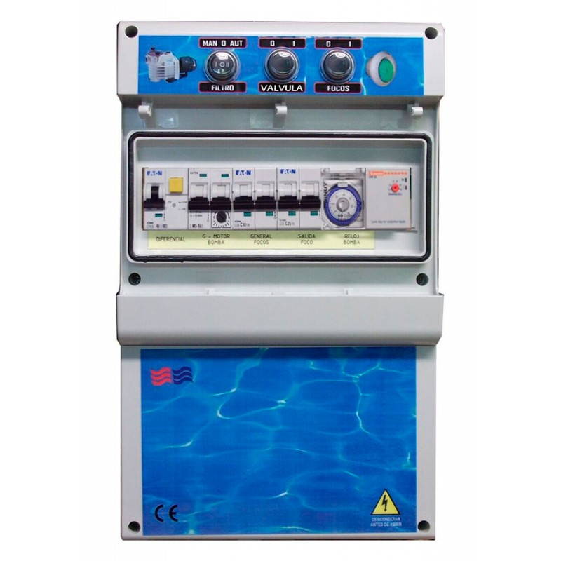 Coffrets électriques pour piscines débordantes Coytesa F1TDCDE