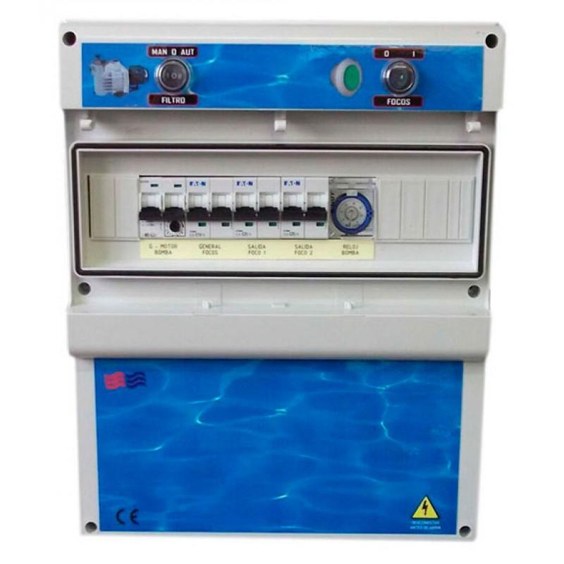 Coffrets électriques pour piscines débordantes Coytesa F2TD
