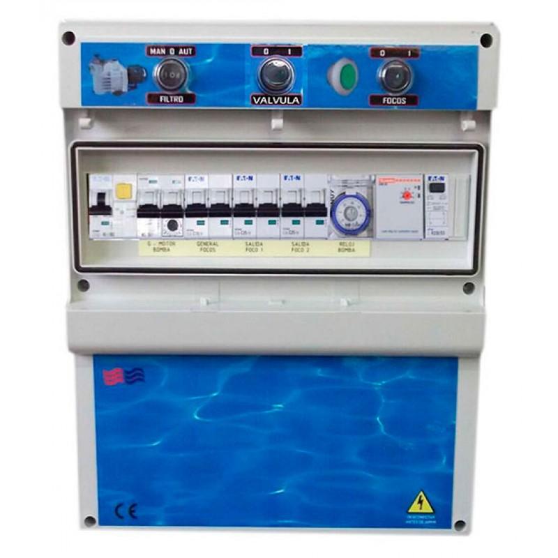 Coffrets électriques pour piscines débordantes Coytesa F2TDCDE