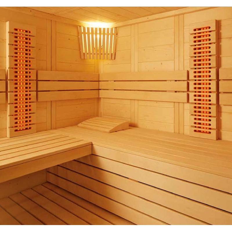 Intérieur Sauna infrarouge Arktis