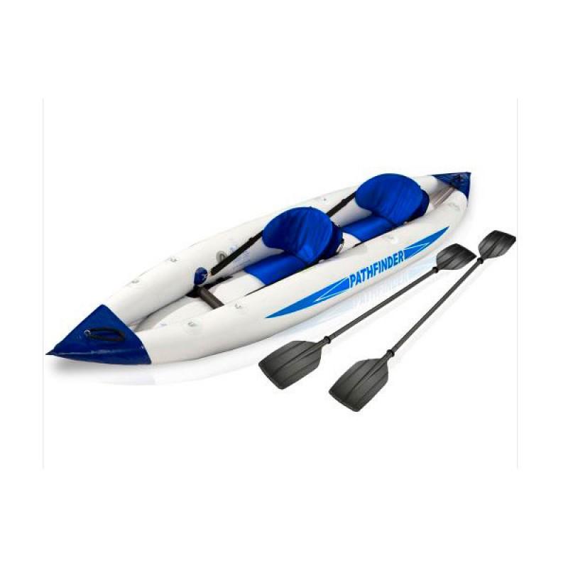 Kayak gonflable 2 persones configurable rames