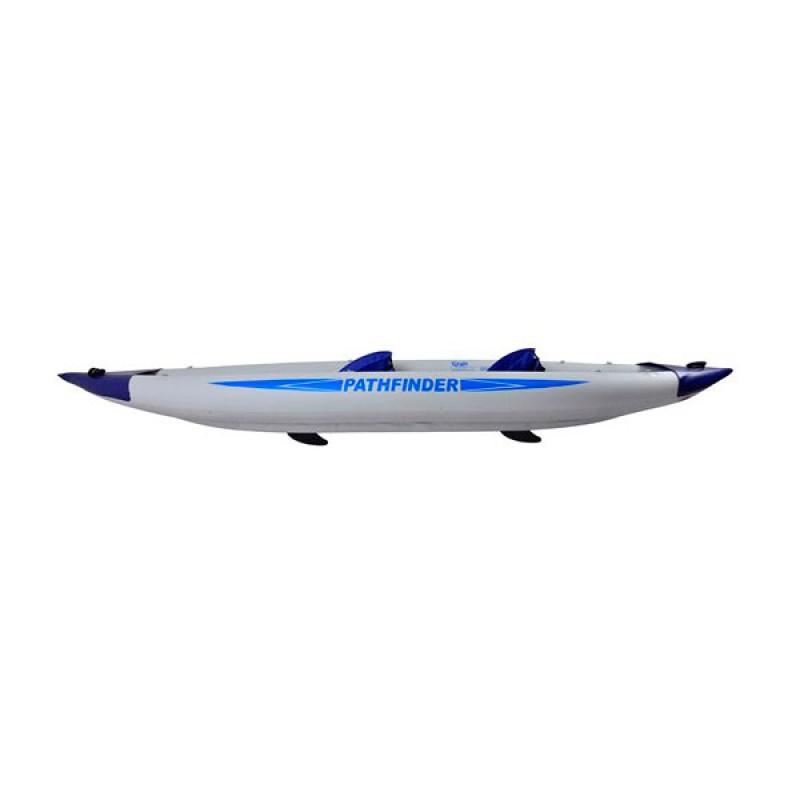 Kayak gonflable 2 persones configurable profil