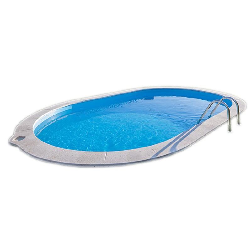Piscine enterr e gre sumatra ovale outlet piscines for Piscine enterree