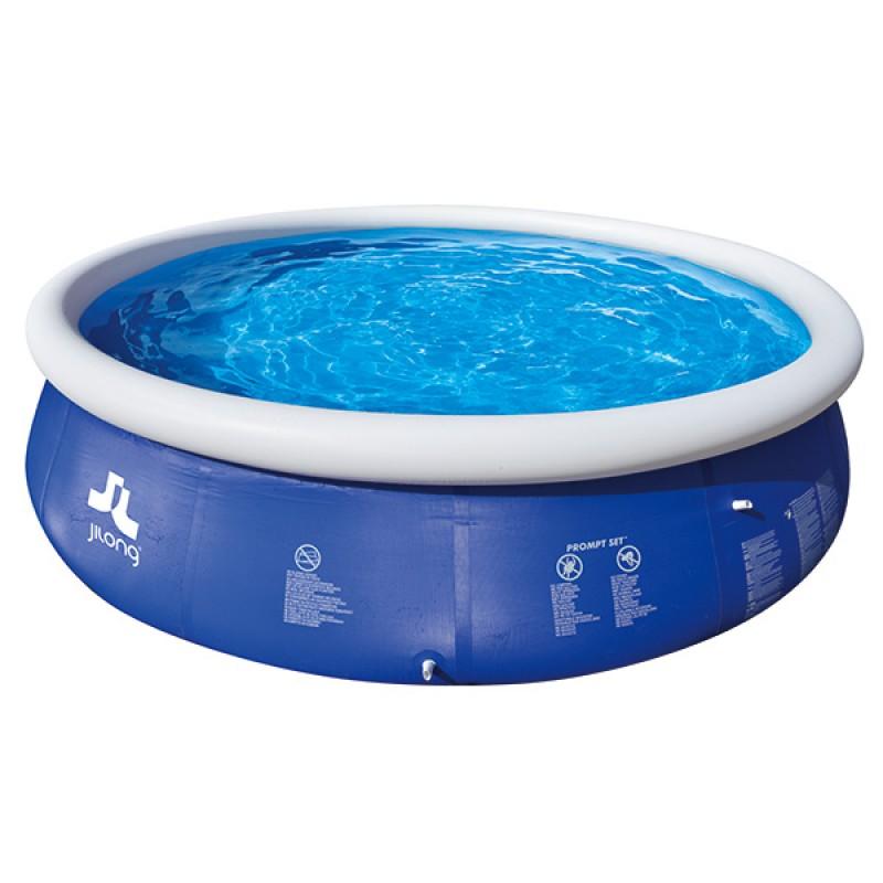 Piscine Gonflable marín blue 360 x 90 cm jilong circulaire