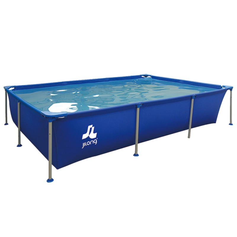 Piscine passaat blue jilong de pvc 258 x 179 x 66 cm