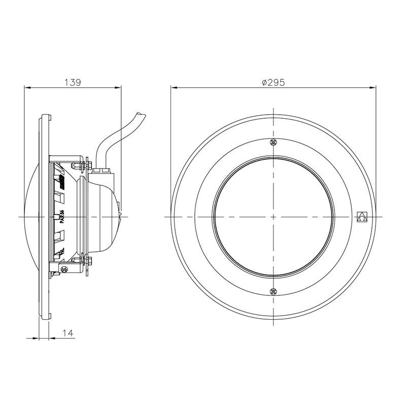 LumiPlus D259 Inox Astralpool