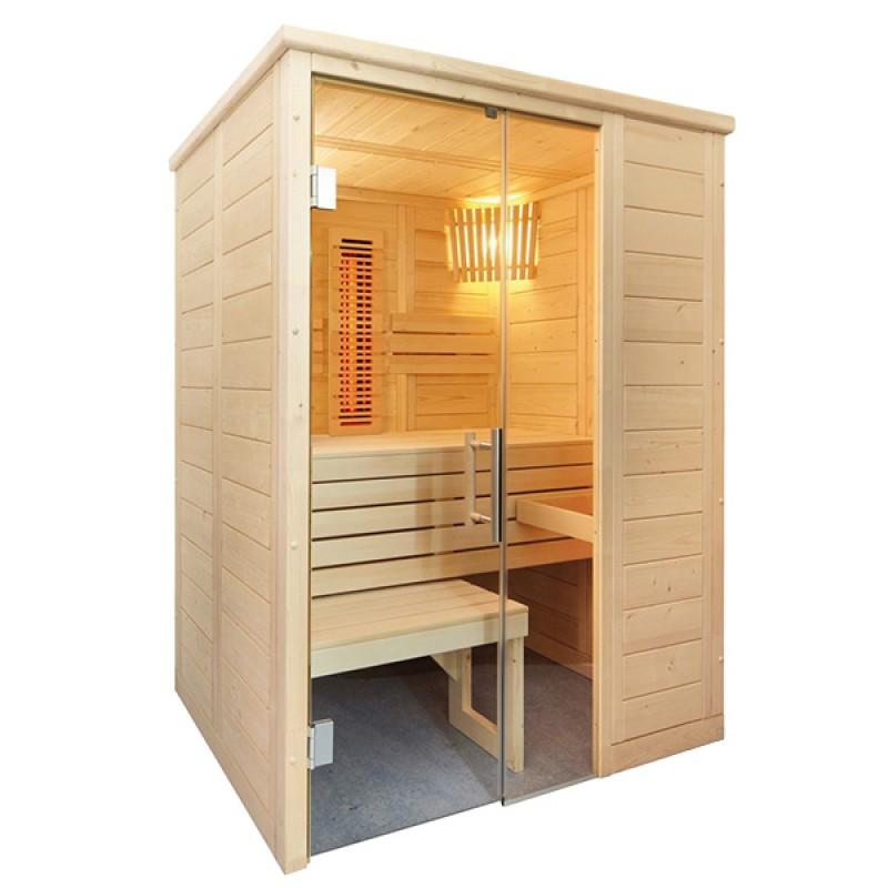 Sauna Alaska Mini Kombi de Vapeur et Infrarouges