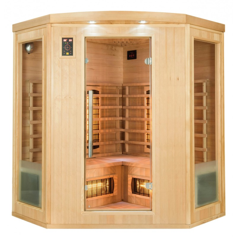 Frontal Sauna Infrarrojos Apollon 3/4 Plazas