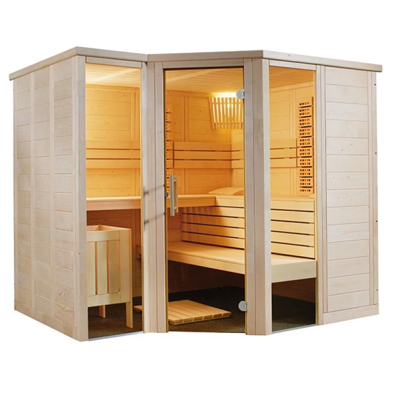Sauna infrarouge Arktis de Vapeur et Infrarouge