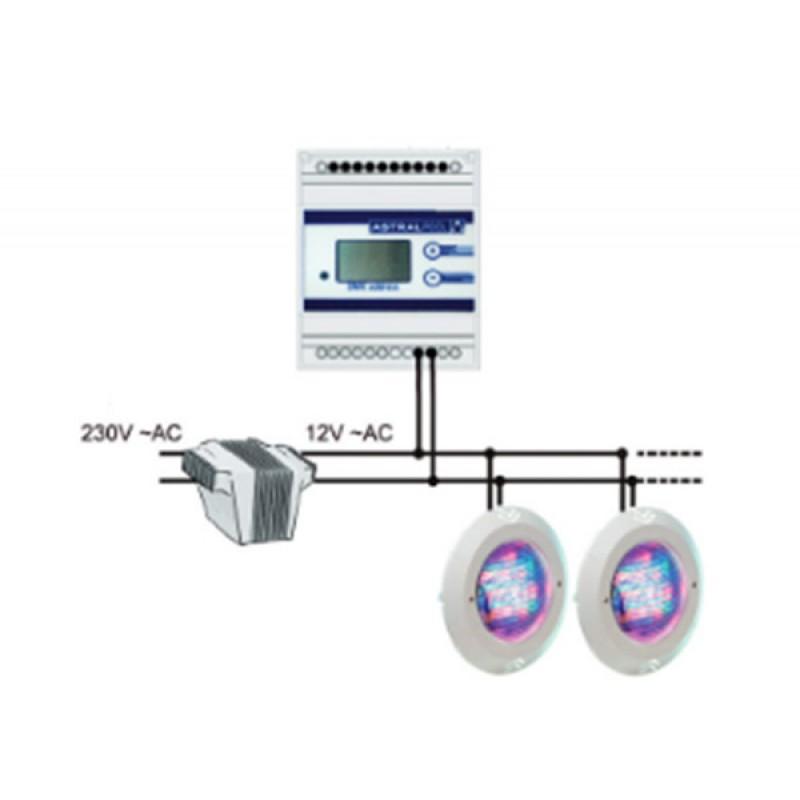 Modulateur RGB-DMX AstralPool - Système contrôle