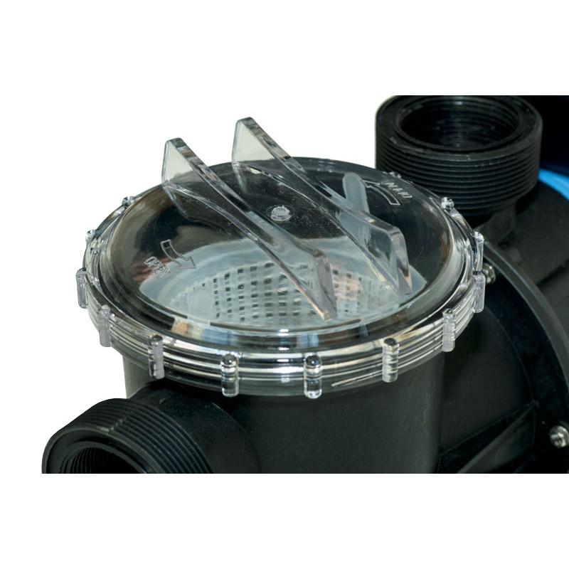 Pompe piscine STP Mono Plug&Play Bouchon transparent prefiltre
