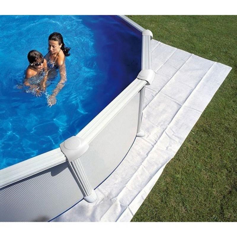 tapis de sol pour piscines surélevées