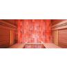 Sauna a vapeur Combi Sel - Mur de sel