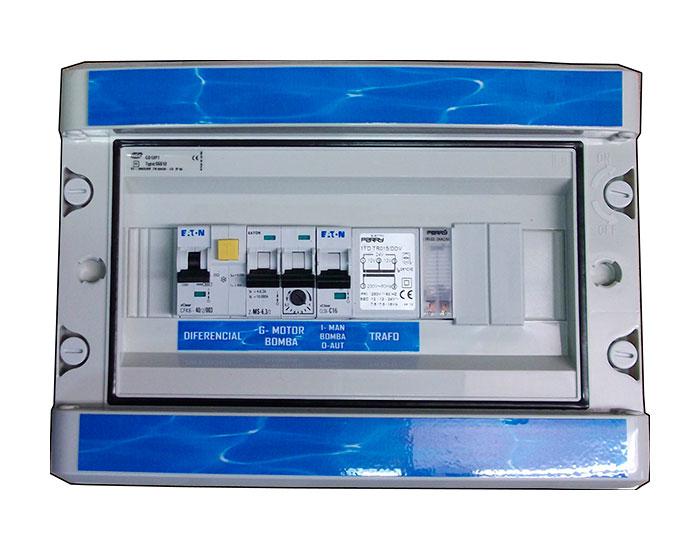 Coffret electrique jeux pompes PPSCC1
