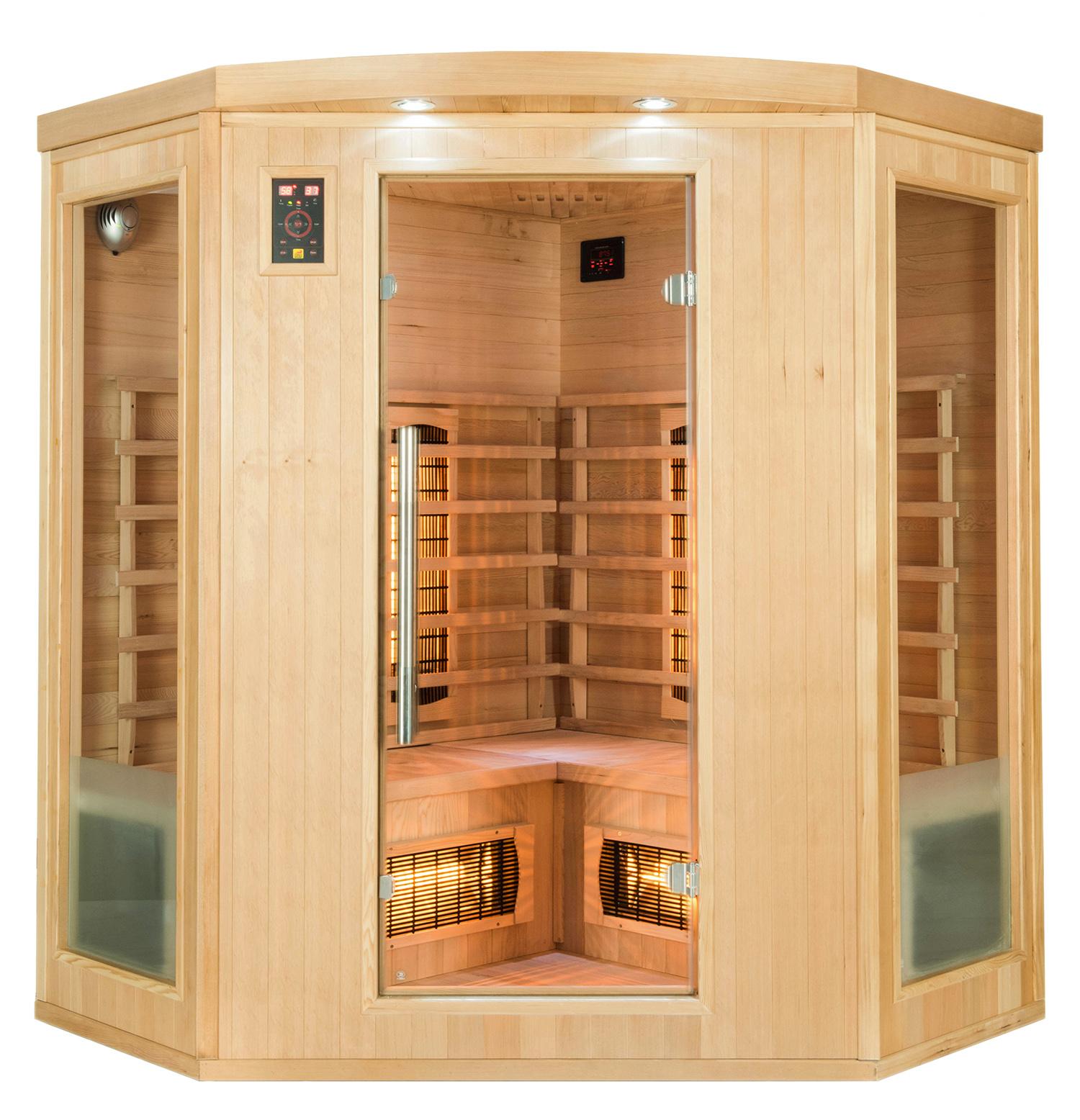 Sauna infrarouge Apollon 3/4 places