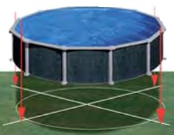 Piscine hors sol java rattan gre outlet piscines for Piscina java