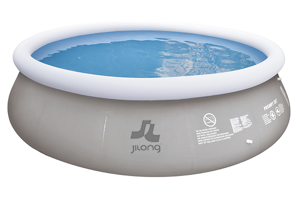 Piscine gonflable marín grey 450x106cm jilong de pvc